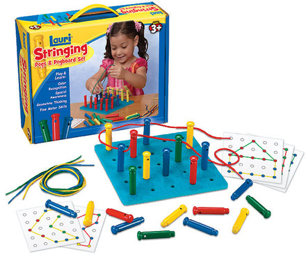 Stringing Pegs & Pegboard (price includes US S&H)