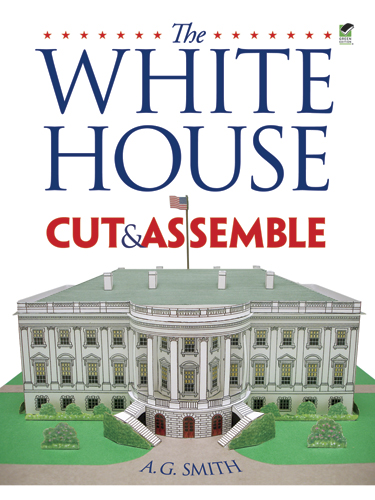 White House Cut and Assemble (price includes US S&H)