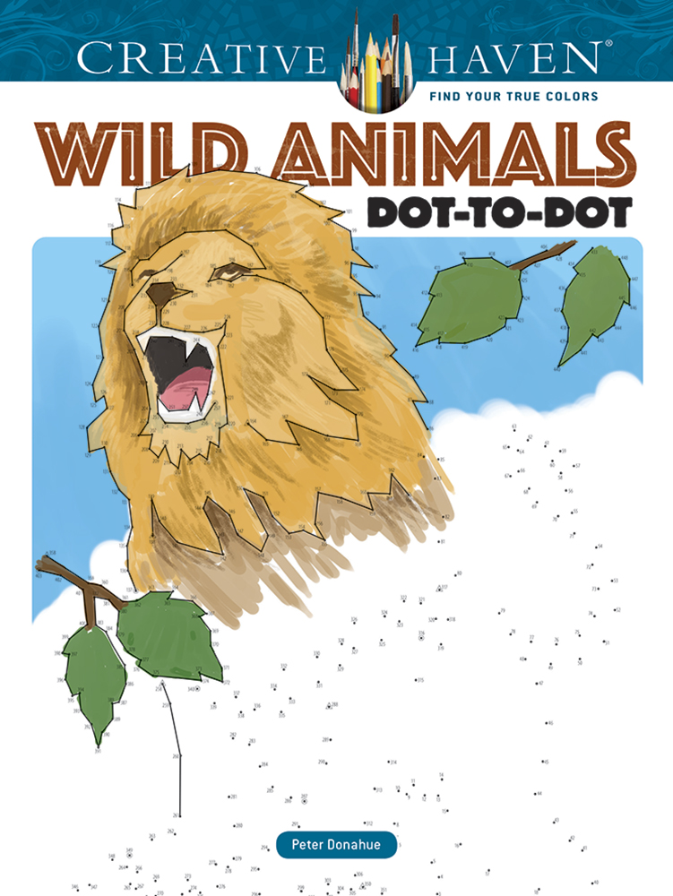 Wild Animals Dot-to-dot (price includes US S&H)