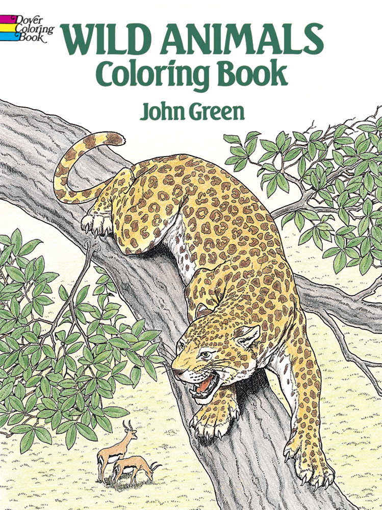 Wild Animals Coloring Book (price includes US S&H)