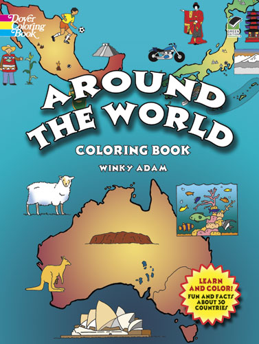 Around the World Color Book (price includes US S&H)