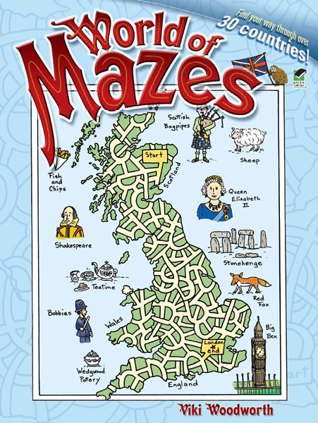World of Mazes (price includes US S&H)