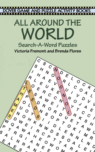 Around the World Word Search (price includes US S&H)