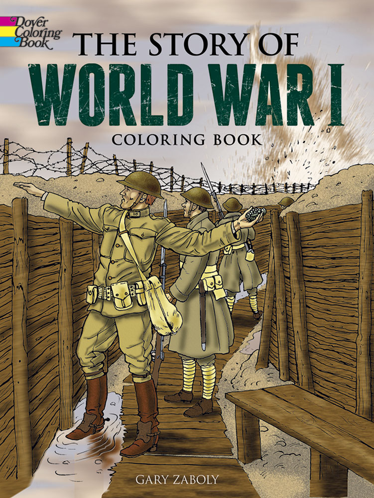 Story of World War I Coloring (price includes US S&H)