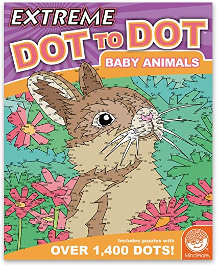 Extreme Dot to Dot:Baby Animal (price includes US S&H)