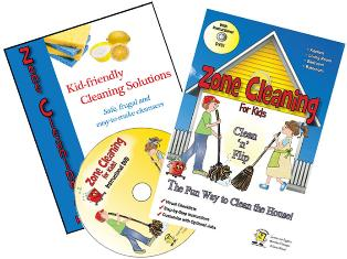 Zone Cleaning for Kids (price includes US S&H)